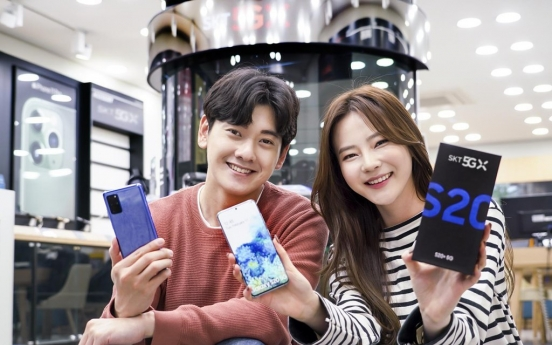 Preorders for Samsung's Galaxy S20 smartphones start in S. Korea