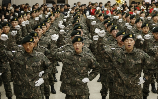 Military suspends drafting soldiers in Daegu