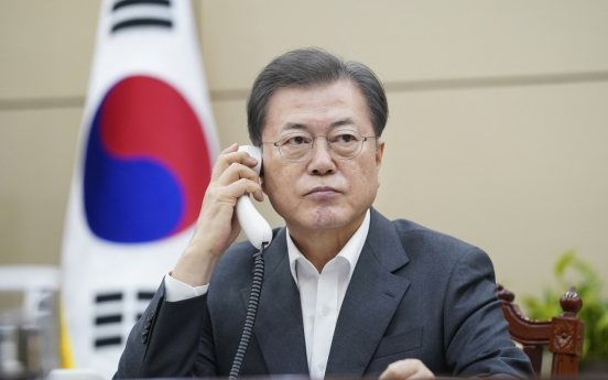 Moon to receive emergency report on virus response