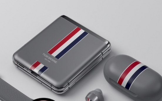 Samsung's Z Flip Thom Browne edition sells out in 2 1/2 hours