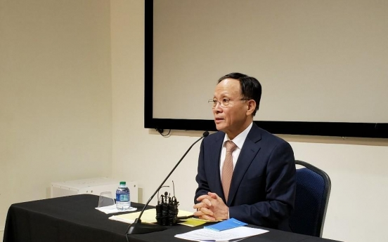 S. Korea, US in close communication over coronavirus: ambassador