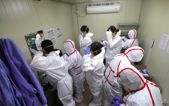 Over 850 medics volunteer for Daegu