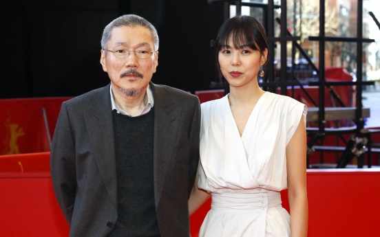 Hong Sang-soo wins best director at Berlin film fest for 'The Woman Who Ran'