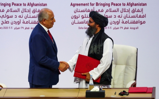 US, Taliban sign deal to pull foreign forces from Afghanistan