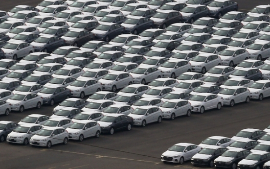 Car sales fall 11% in February on virus-caused supply disruptions