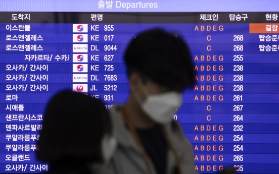 Korea halts flights to Italy for first time in 29 years