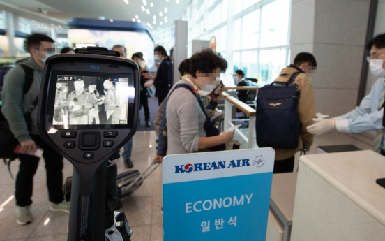 Korean Air to check all passengers' temperatures before boarding