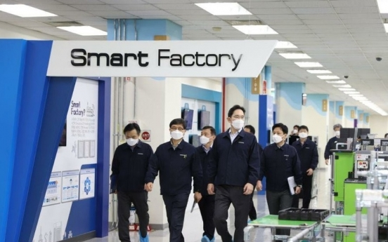 Samsung temporarily shuts down Gumi smartphone factory again over virus case