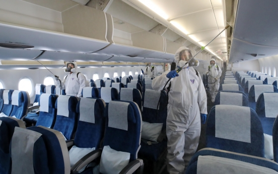 Another Korean Air flight attendant infected with new coronavirus