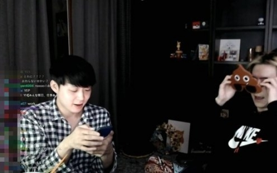 Park Yoo-chun makes surprise appearance on brother's livestream