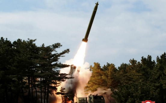 NK fires projectiles in second weapons test this month