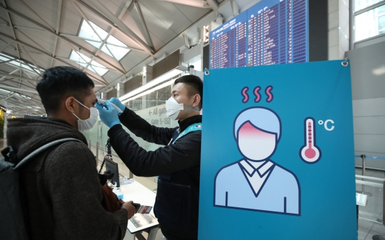 Thailand-bound passengers from S. Korea required to undergo mandatory fever checks