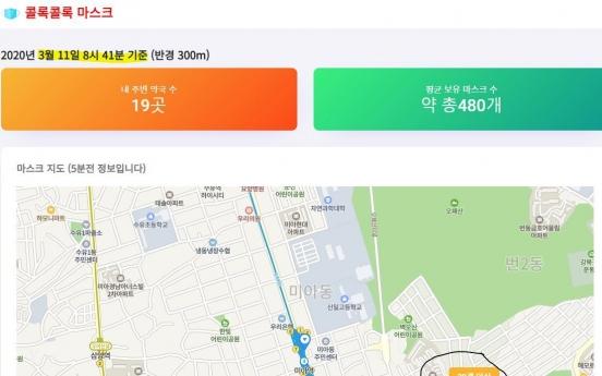 [Newsmaker] Digital mask-supply services kick off in S. Korea