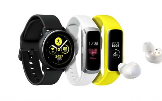 Samsung No. 3 vendor of wearable devices in 2019: report
