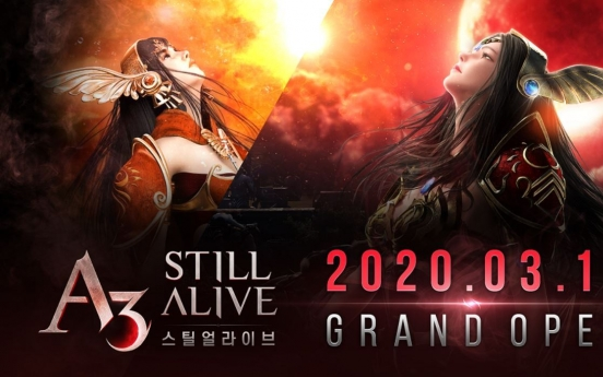 Netmarble launches MMORPG-battle royal cross-genre game A3: Still Alive