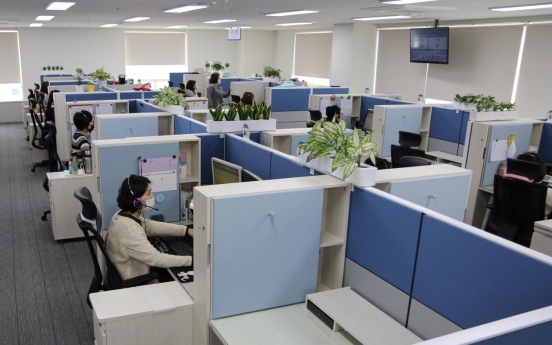 Telecom call center employees to work from home