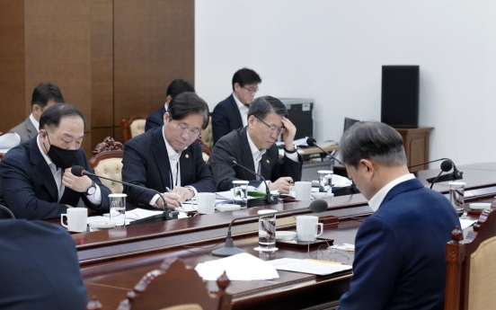 Moon urges 'unprecedented' special steps for pandemic-hit economy