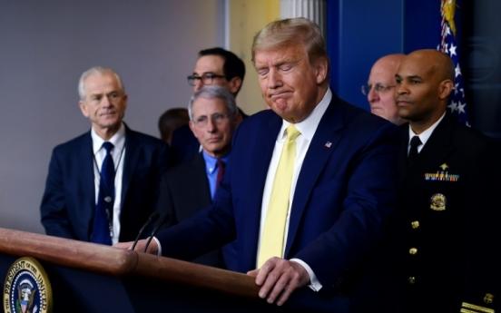 Trump tests negative for coronavirus: White House physician