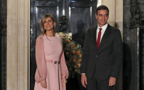 Wife of Spain's prime minister tests positive for virus