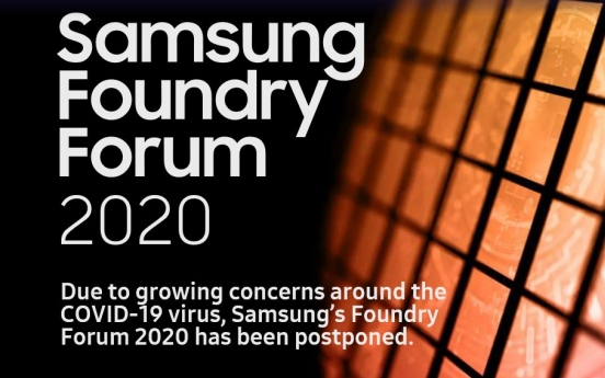 Samsung Foundry Forum in Silicon Valley postponed over pandemic