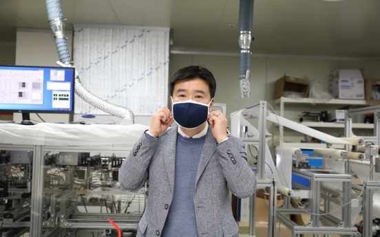 Korean scientists develop high-filter, washable masks