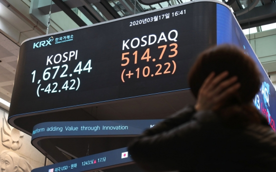 Seoul markets sink as monetary easing fails to quell virus fears
