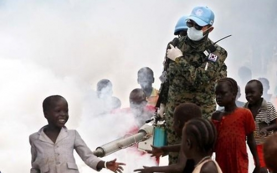 S. Korea to bring home part of rotational troops from South Sudan