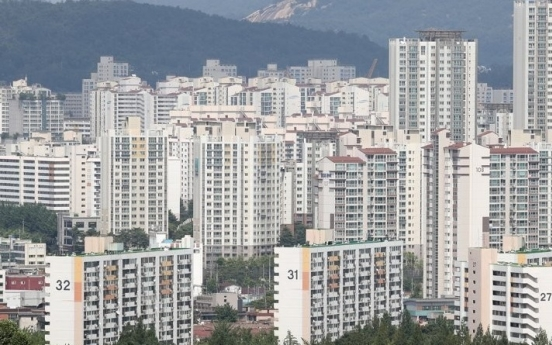 Apartment 'jeonse' deals in Seoul hit 9-year low in July