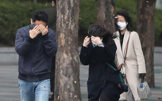 [Newsmaker] First-ever strong wind warning to be issued for Seoul