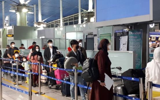 S. Korean chartered flight heads home carrying 80 people evacuated from coronavirus-hit Iran