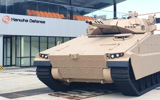 Hanwha Defense beefs up online effort to win Australian defense deal