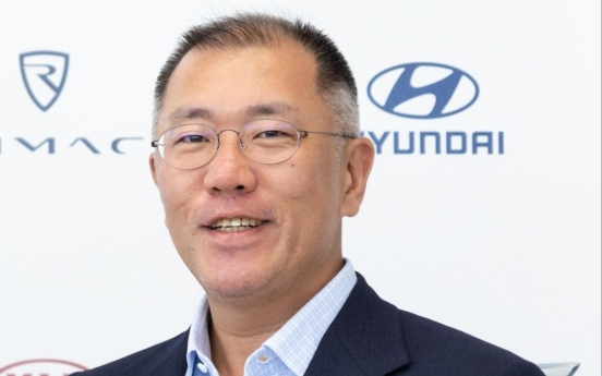 [Newsmaker] Chung Euisun elected as chair of Hyundai Motor Group board