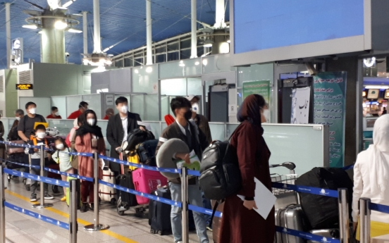 S. Korea evacuates 80 citizens from Iran on charter flight