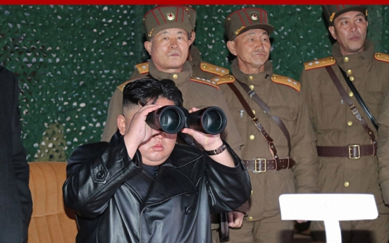 N. Korea says leader Kim oversaw test of newly developed tactical guided weapon