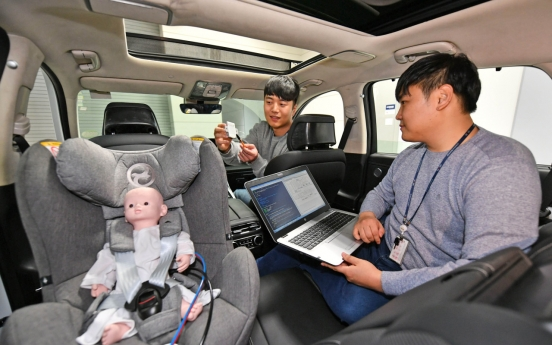 Hyundai Mobis develops radar-using passenger detecting technology