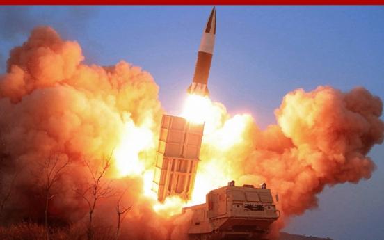 Kim Jong-un oversees ballistic missile test