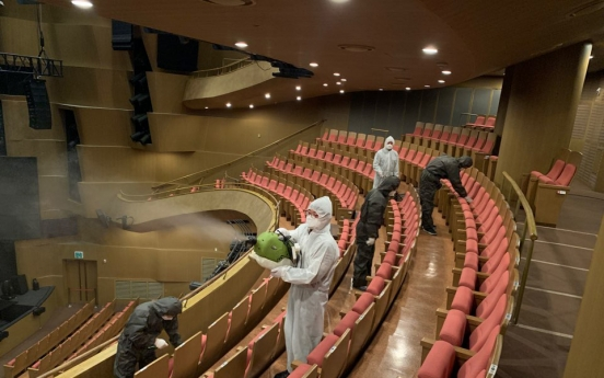 Performing arts scene staggers under virus pandemic
