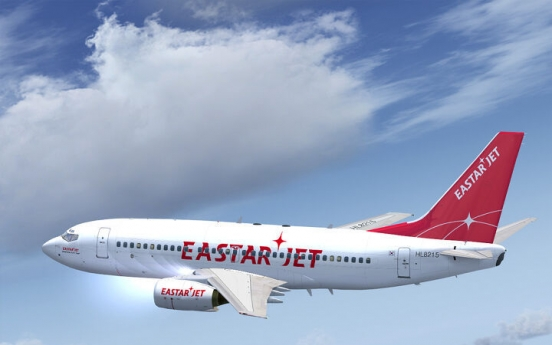 Eastar grounds flights for 1 month over coronavirus