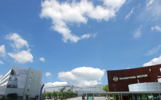 SsangYong Motor aims to leap ahead with self-rescue plan