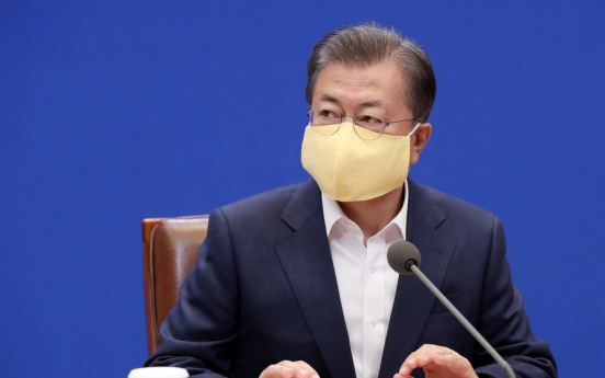 Ruling party, President Moon earn high grade in polls