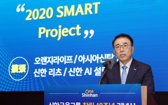 Shinhan Financial asks unit CEOs to take digital leadership