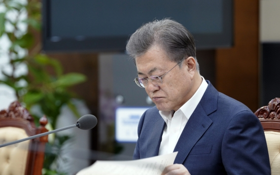 Moon against discussing permanent change in academic calendar, Cheong Wa Dae says