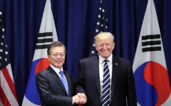 Trump requests S. Korea's medical device support to fight COVID-19 in phone summit with Moon