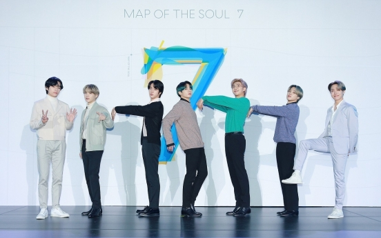 BTS' 'Map of the Soul: 7' drops to 11th on Billboard 200