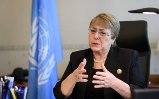 UN rights chief advises relaxing NK sanctions over virus spread