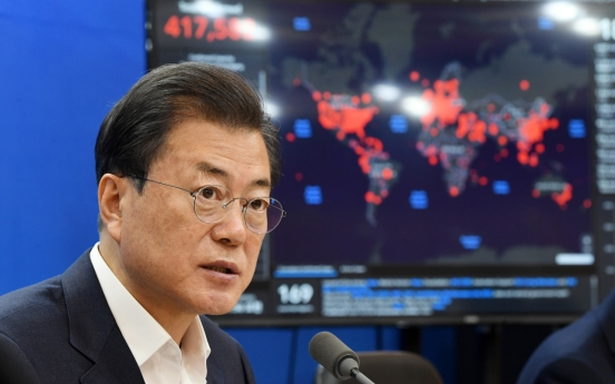 Moon to share S. Korea's coronavirus experience in G-20 summit