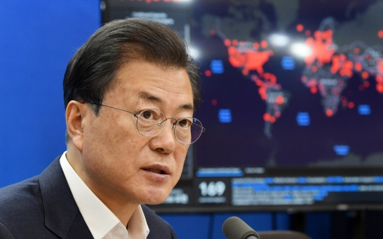 Moon to join G-20 virtual summit on coronavirus response, share S. Korea's strategy