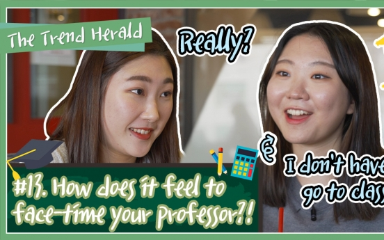 [Video] College students have tough time with online classes
