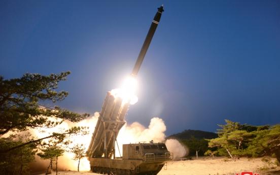 North Korea 'photoshopped' latest rocket test photo: report