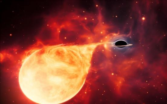 블랙홀의 '잃어버린 고리' 중간질량 블랙홀 존재 확인